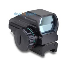 Tactical Reflex Rood/Groene Laser 4 Reticle Holografische Geprojecteerd Dot Sight Scope Luchtdruk Rifle sight Jacht Rail Mount 20mm