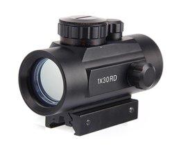 Koop 1X30 Holografische Riflescope Jacht Optics Scope Rood Groen Dot Tactical Sight Voor Hunting Shotgun 20mm lucht Richtkijker