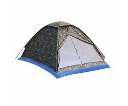 Outdoor Draagbare Strand Tent Camouflage Camping Tent voor 2 Persoon Enkele Laag polyester stof Tenten PU1000mm Draagtas Reizen