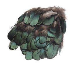 50 stks/set Mooie Natuurlijke Groene Fazantveren Voor Ambachten Hoedenzaak Embellishments DIY Handmake Arts Materiaal Accessoires
