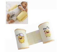 Retail Leuke baby slapen vormgeven kussen peuter katoen anti roll slaap kussen YYT106
