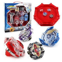 MyXL Beyblade Burst 4D Set Met Launcher en Arena Metal Strijd Battle Fusion Klassieke Speelgoed Met Originele Doos Voor Kid Kerstcadeau F3