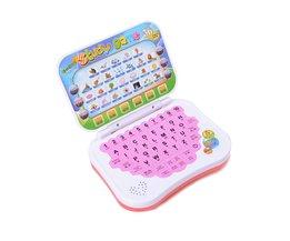 Taal Kinderen Computer Leren Machines Laptop Leren Onderwijs Speelgoed Tablet Elektronische Notebook Kids Studie Game Pad