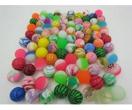 5 stks/partij water float ball toys gemengde stuiterende bal kind kid elastische rubberen bal kinderen kids pinball bouncy toys