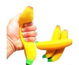 Stress Overdrukventiel Relax Nieuwigheid Plezier speelgoed Grappige Anti Stressbal Speelgoed Knijp Banaan BallGeek Gadget Vent