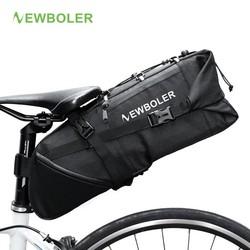 MyXL NEWBOLER 2018 Bike Tas Fietszadel Tail Seat Waterdichte Opbergzakken Fietsen Achter Pack Fietstassen Accessoires 10L Max