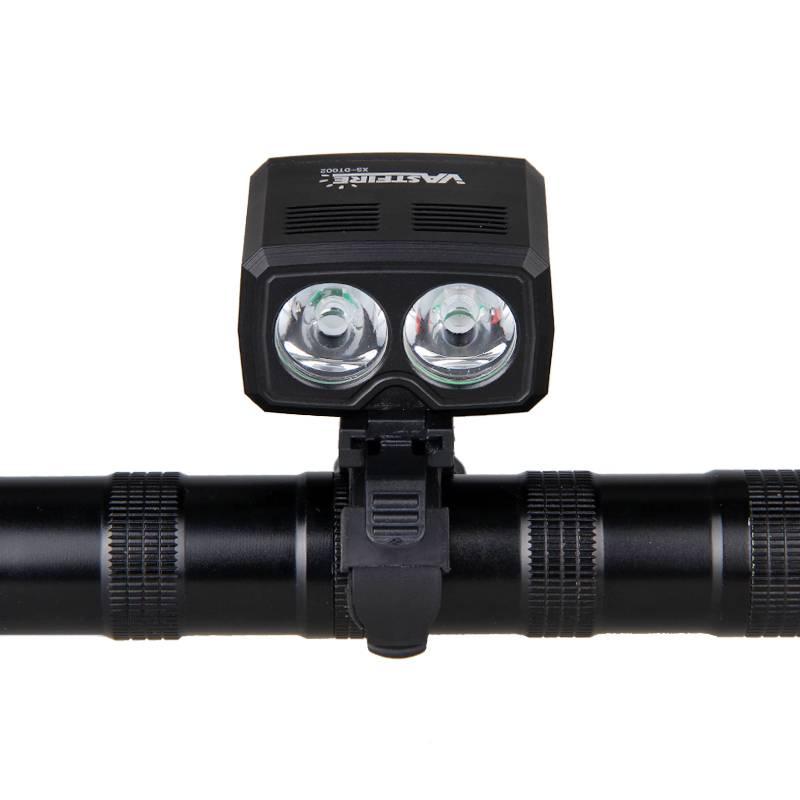 5000lm USB Oplaadbare Fiets Lamp 2x XM-T6 Voor Stuur Bike Licht Ingebouwde Batterij 5 Modi Koplamp