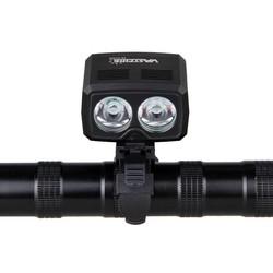 MyXL 5000lm USB Oplaadbare Fiets Lamp 2x XM-T6 Voor Stuur Bike Licht Ingebouwde Batterij 5 Modi Koplamp