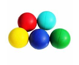 7 cm Kleurrijke Stress Fidget Hand Relief Squeeze Foam Squish Ballen Kids Speelgoed Herbruikbare Stress Bal