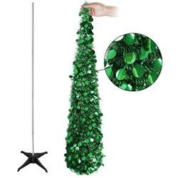 MyXL Aytai Bling Pailletten Kerstboom 150 cm Kunstmatige Klatergoud Pop Up Kerst Nieuwjaar Decoratie Kerstversiering voor thuis