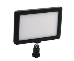 SCLS 12 W 192 LED Studio Video Continu Licht Lamp Voor Camera DV Camcorder Black