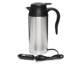 12 V Waterkoker 750 ml Rvs In-Auto Reis Koffie thee Verwarmde Mok MotorWater Voor Auto Of Vrachtwagen gebruik