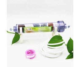 6 Stadia Mineral Alkaline Water Filter Cartridge Uitstoten Ver Infrarood Stralen, Verhoogt PH, Water smaak beter Voor RO Unit