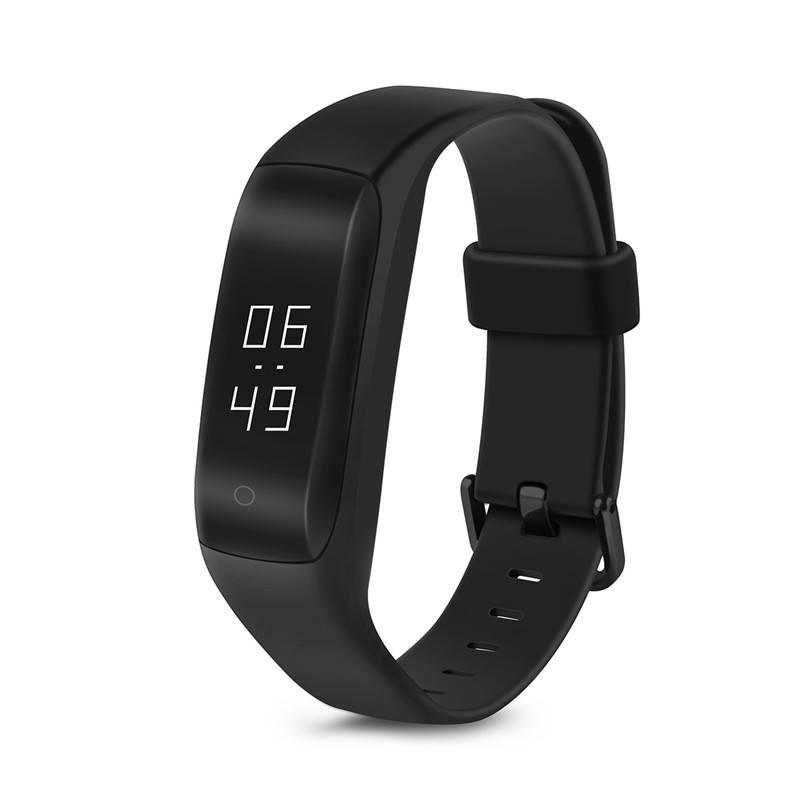 Originele HW01 Smart Armband Bluetooth 4.2 Hartslag Moniter Stappenteller Sport Fitness Tracker Voor