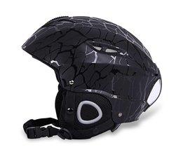 BENICE Sport Veiligheid Skiën Helm met Inner Verstelbare Gesp Liner Kussen Layer 58-61 cm Hoofd Circumferencess Skiën Helm<br />  MyXL