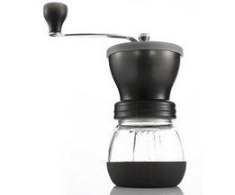Handleiding Keramische Koffiemolen ABS Keramische core Rvs Burr grinder Keuken DIY Mini Manual Hand Koffiemolen <br />  EASEHOLD