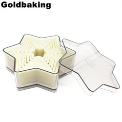 MyXL Ster Cookie Cutters Set Nylon Cookie Moulds <br />  Goldbaking