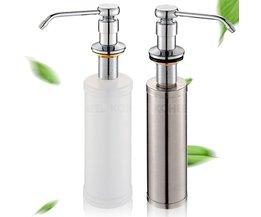 Aanrecht Zeepdispenser, 304 Rvs Detergent Fles, druk Wassen, wassen Schotel Wastafel, Detergent Fles, Post Tas <br />  KOHEEL