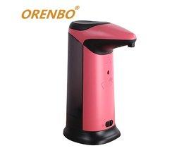 420 ml Automatische Zeepdispenser Touchless Sanitizer Dispensador Smart Sensor Touchless Sanitizer Dispensador voor Keuken Badkamer <br />  MyXL