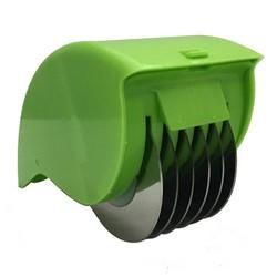 MyXL Kruid Rolling Mincer Kruiden Sjalot Knoflook Groenten Handleiding Scallion Cutter 6 Rvs Blade Slicers Keuken Koken Tool <br />  Little J