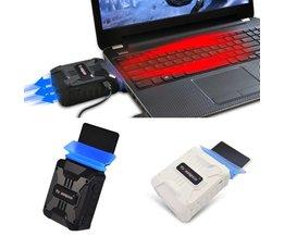 Mini Stofzuiger USB Laptop Cooler Air Extraheren Uitlaat Koelventilator CPU Koeler Drop Verzending <br />  OXA