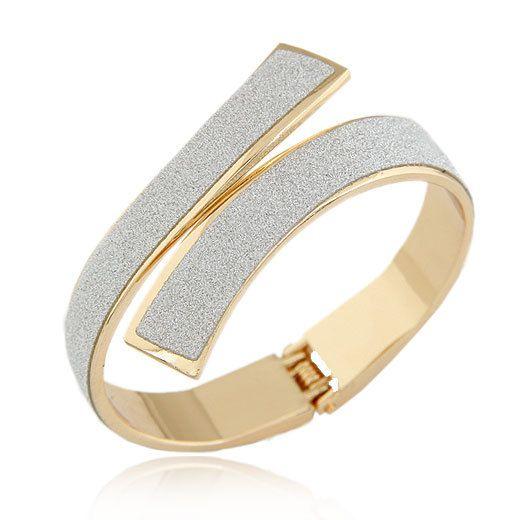 PulserasGoud-Zilveren Manchet Armbanden & Bangles voor Vrouwen Mannen Sieraden Vrouwelijke Bedelarmb