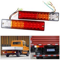 MyXL 2 stks Trailer verlichting LED Stop Achterlichten Brake Reverse Light Turn Indiactor led 12 V/24 V ATV Truck led Trailer achterlichten Lamp <br />  VGEBY