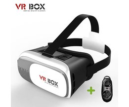 9 Tong Virtual Reality VR BOX II 2.0 Versie 3D Bril Google kartonnen VR Bril 3D Video Film Game Voor Smartphone 3.5-6 inch  <br />  <br />  9Tong