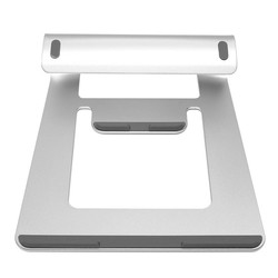MyXL Aluminium Laptop Stand Houder Dock Bureau Pad Voor MacBook Pro Air Tablet Notebook Draagbare Metalen Laptop Cooling Pad Cooler Stand <br />  Yu yunai