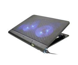 VENCCI DCX-008 Notebook Cooler Stand Radiator Voor Laptop Ultra-draagbare en Lichtgewicht Laptop Cooling Pad USB Ventilator Voor Gaming <br />  S SKYEE