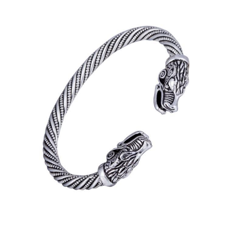 Teen Wolf Armband Indian Sieraden Mode Accessoires Viking Armband Mannen Polsband Manchet Armbanden