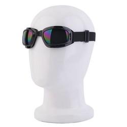 MyXL Unisex Veiligheidsbril Opvouwbare Transparant Anti Gepolariseerde Winddicht Anti Fog Zon Beschermende Verstelbare Riem BrilKoop <br />  LESHP