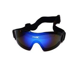 Mannen Vrouwen Ski Bril Stofdicht Anti Fog Skiën Brillen Winddicht Uv400 Sport Skibrillen <br />  QUESHARK