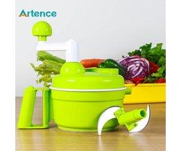 Multifunctionele Keuken Handleiding Food Processor Huishoudelijke Vleesmolen Groente Chopper Quick Shredder Groene Cutter Ei Blender <br />  Artence