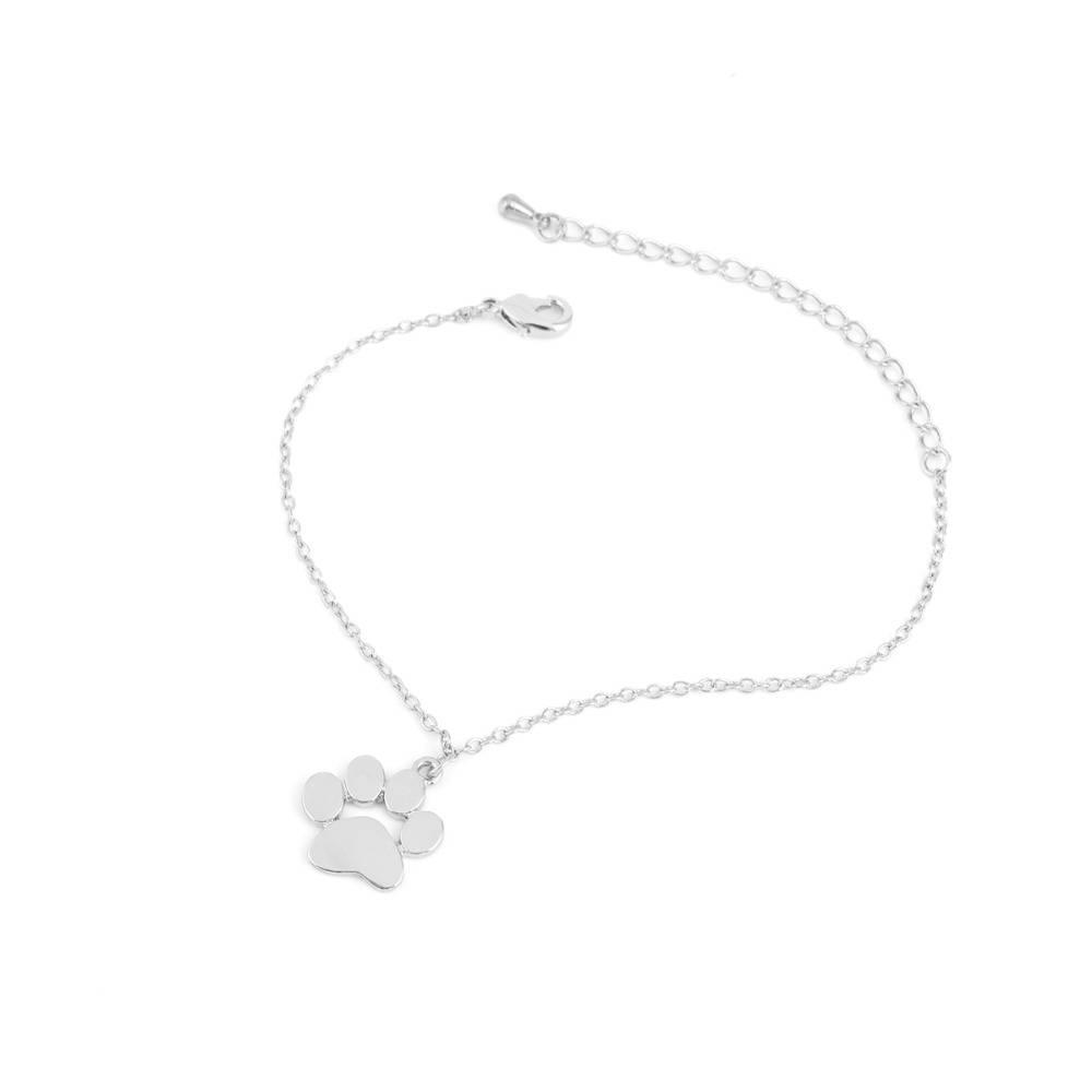 Fashoin Armband Sieraden Tassut Kat Poot Print Armband Mooie Animal Armbanden voor Vrouwen pulseras