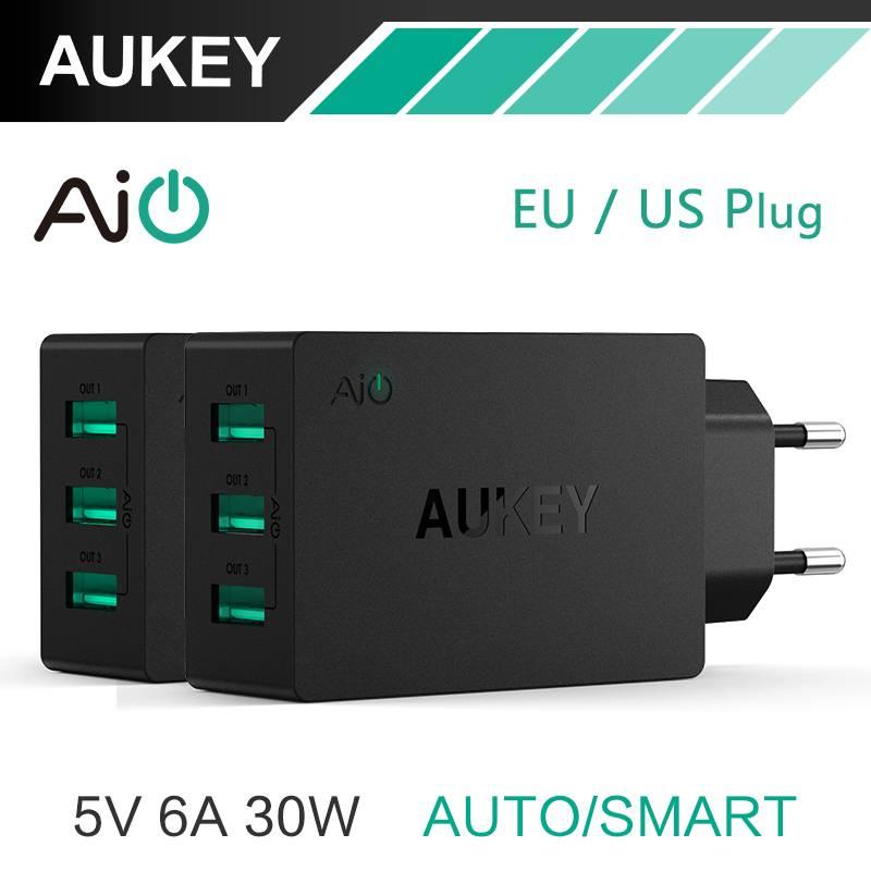 5 V-6A Universal Travel Charger USB Adapter EU US Plug muur Mobiele Telefoon Smart Charger voor Sams
