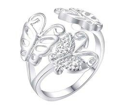 Mode-sieraden Ringen NieuweZilveren Huwelijksgeschenkenringen WAR205