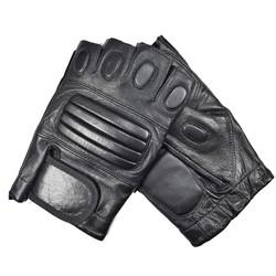 MyXL Kuyomens mannen vingerloze handschoenen pols half vinger handschoen unisex vingerloze wanten real lederen handschoen