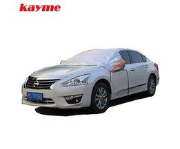 Kayme Universele Auto Half Covers Zonnescherm Styling Folie Waterdicht Dikker Auto Sneeuw Shield Uv Sneeuw Bescherming Covers Voor Cars