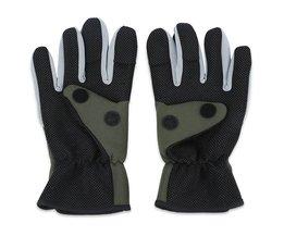 TSURINOYA Vissen Handschoen Gepaarde Warm Waterbestendig Volledige Vinger Handschoen voor Outdoor Vissen Sport Handschoen