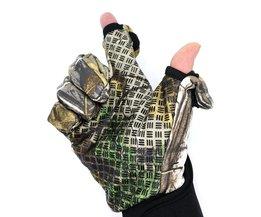 NEWBOLER Winter Vissen Handschoenen Duurzaam Full/2 Half Vinger Handschoenen Waterdichte Jacht Camping Anti Slip Gel Buitensporten Handschoenen