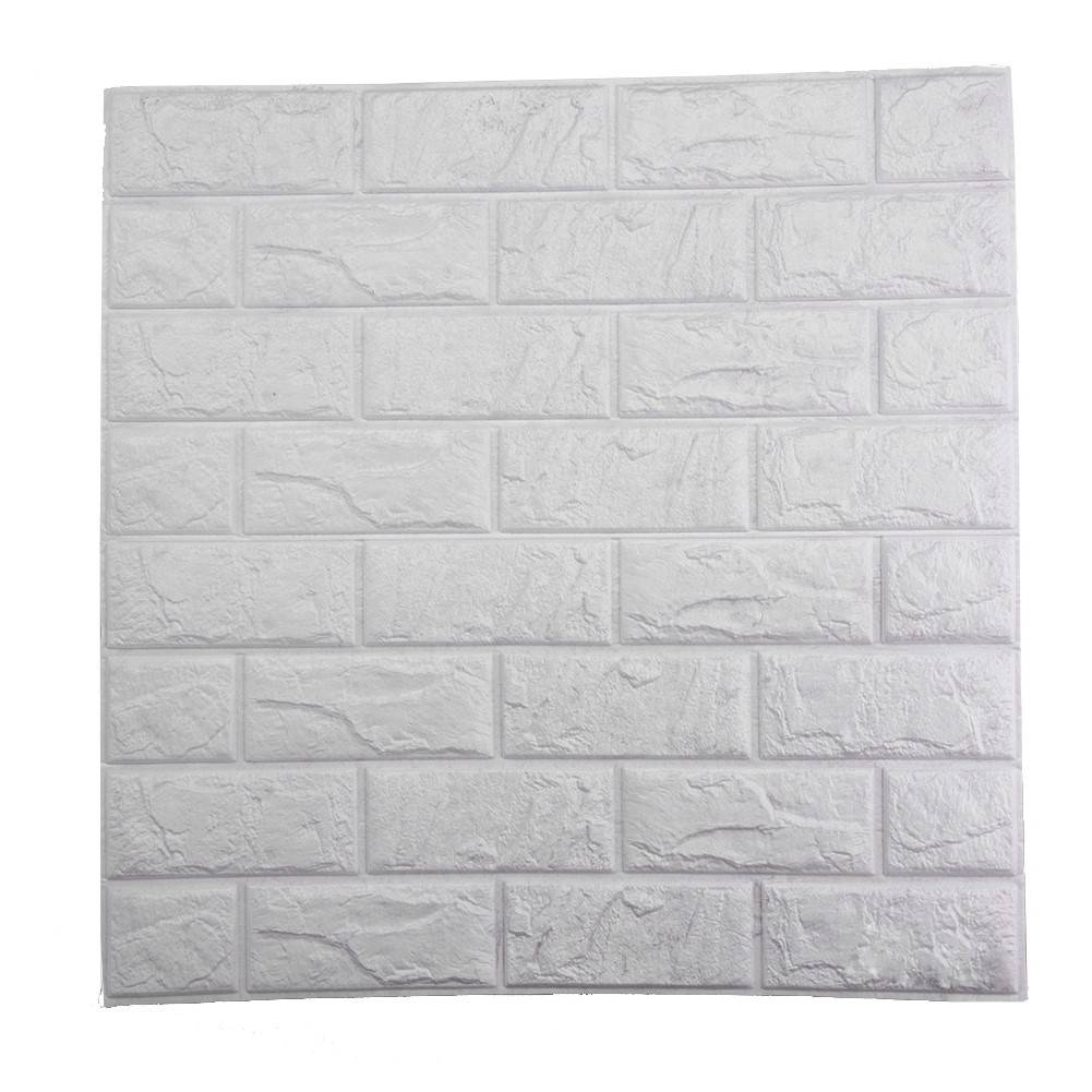 60x60 cm PE foam veiligheid interieur behang 3d diy muurstickers decoratie baksteen muur van de kame
