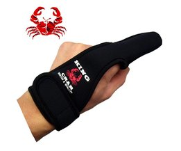 Genuine Non-Slip Fishing hunting gloves Single Surf Casting Braid Line Protector One Protecting Finger When Long Allthat tackle