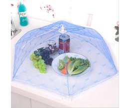 Paraplu Vouw Voedsel Tent Inklapbare Taart Netto Covers Insect Anti Fly Mosquito Voedsel Covers
