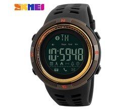 Mannen Smart Horloge Chrono Calorieën Stappenteller Multi-functies Sporthorloges Herinnering Digitale Horloges Relogios 1250<br />  SKMEI