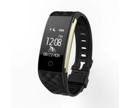 S2 Bluetooth Smart Band Polsbandje Hartslagmeter IP67 Waterdichte Smartband Armband voor Android IOS Telefoon Pk Fitbits<br />  VESTMADRA