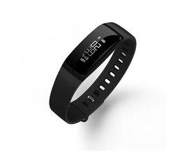 Smart Armband Bluetooth Smart Band V07 Horloges Bloeddruk Hartslagmeter Stappenteller Fintess Tracker SMS Oproep Herinnering<br />  konroy
