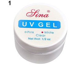 Roze Wit Clear 3 Kleuropties UV Gel Builder Gel Breiden Nail Art Tips Voor Gel Nagellak Manicure Extension <br />  MyXL