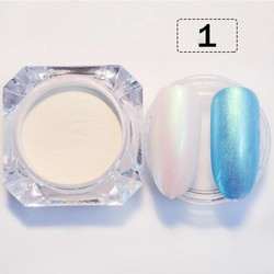 MyXL 2 g/doos GEBOREN PRETTY Shining Nail Glitter Pearl Shimmer Nail Poeder Nail Dust Poeder 3 Kleuren Mermaid Manicure Nail Art Glitter <br />  Born Pretty