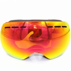 MyXL Professionele Skibril Mannen Vrouwen Anti-fog 2 Lens UV400 Volwassen Winter Skiën Brillen Snowboard Sneeuwbril Set Volledige kleur <br />  RBworld